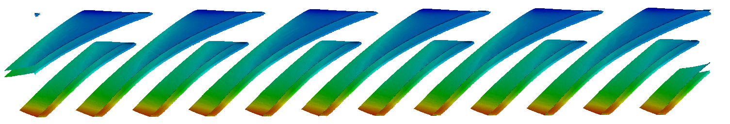 CFturbo-TurbomachineryCFD-radial-compressor-unwrapped-pressure
